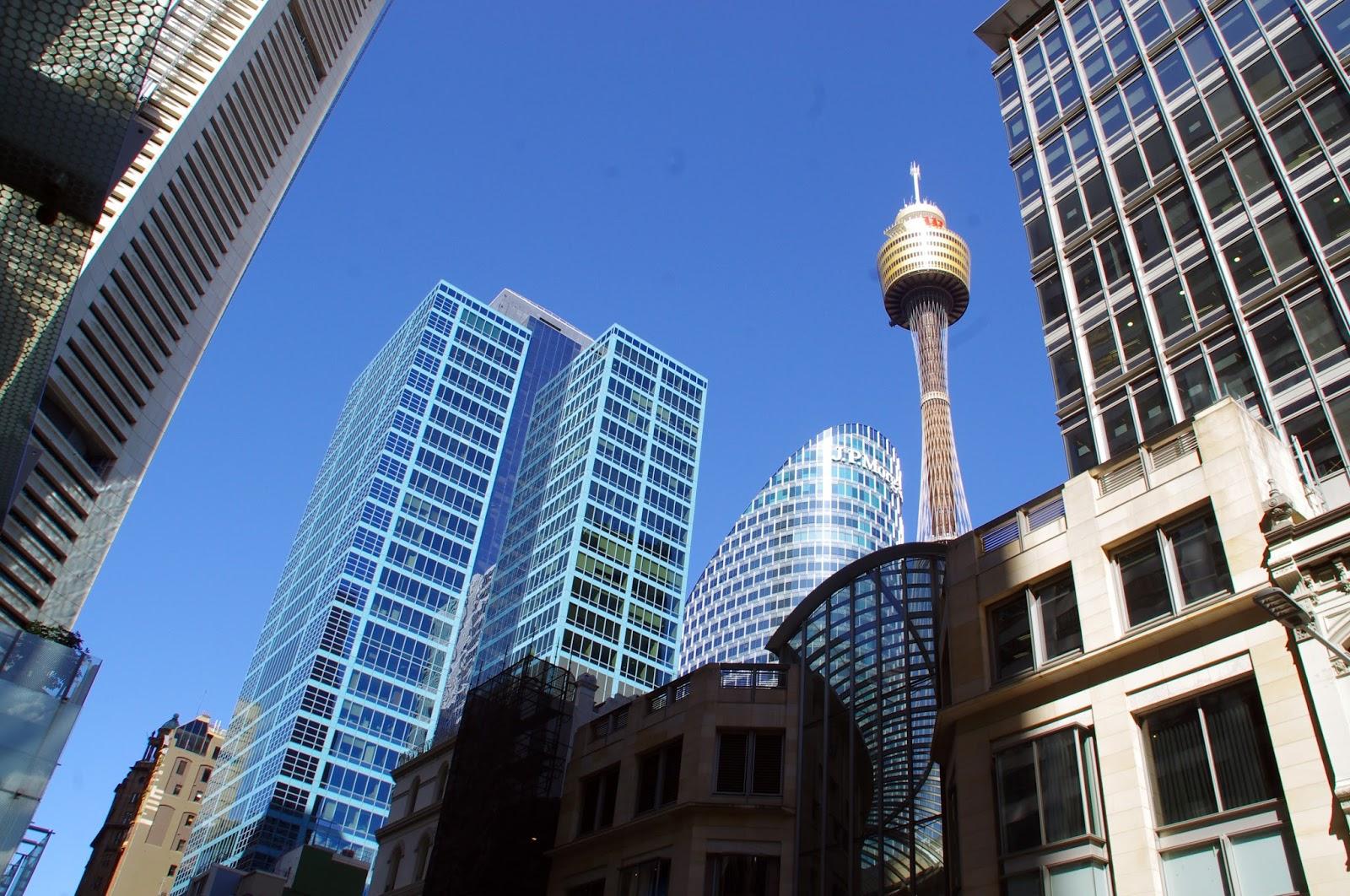 City skyline sydney