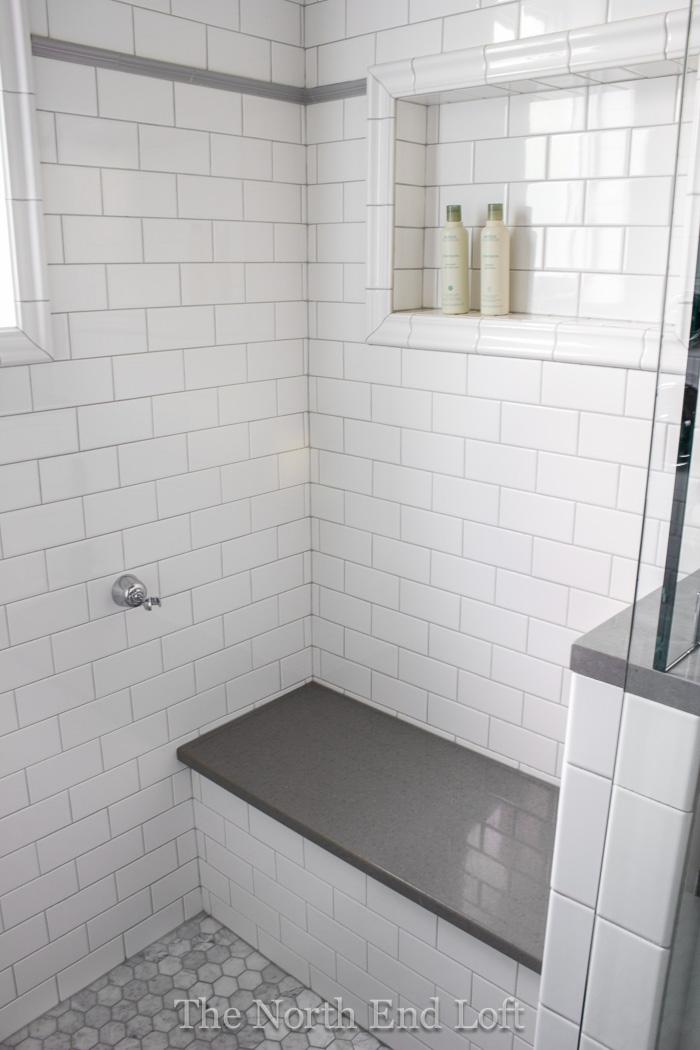 The North End Loft: Master Bathroom Reveal
