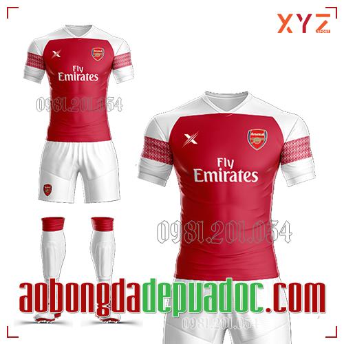 Áo Arsenal 2019 Sân Nhà Màu Đỏ Đẹp Và Độc