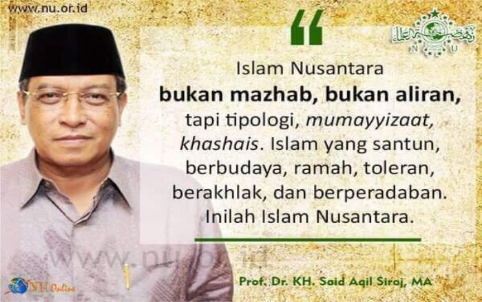 Menolak Islam Nusantara!