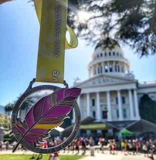 Women's Fitness Festival medal