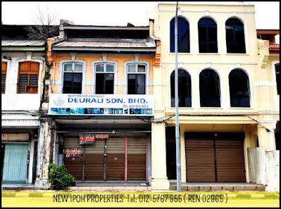 Ipoh Town Area Jalan Dato Onn Jaafar Shop For Sale & Rent (C02393) - RM 700/mth-RM 1,500mth (NEG), RM 970K (NEG)