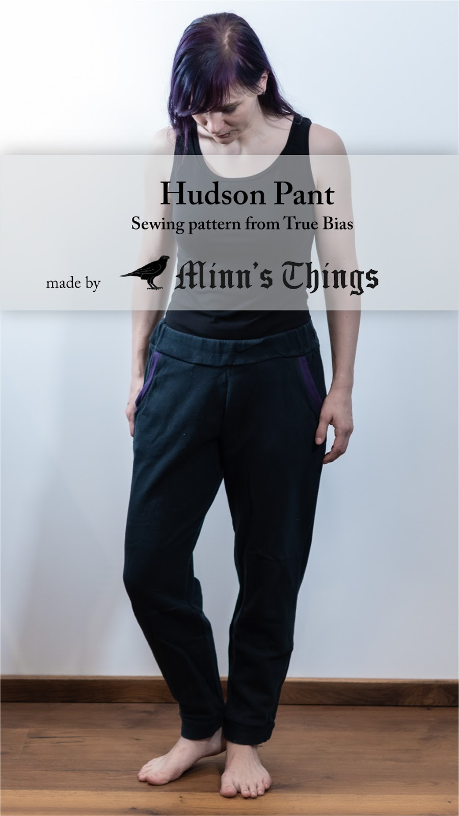 Minn's Things Hudson Pant sewing pattern true bias diy selfmade joggers review blogger