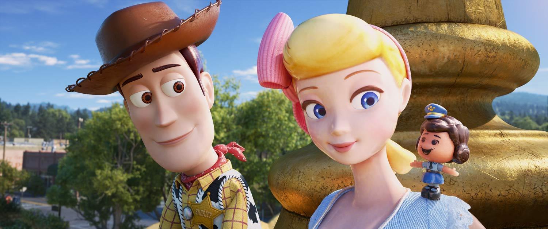 Toy Story 4 - Wood, bo Peep y Giggle McDimples