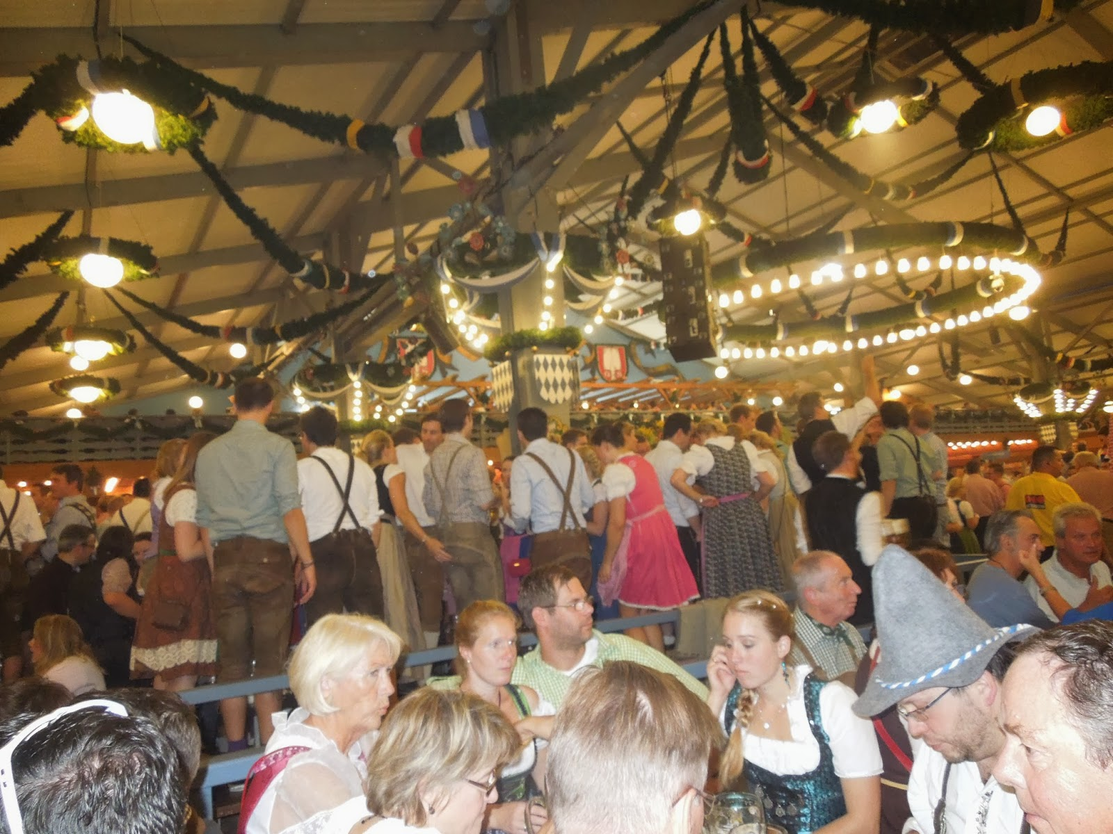 Wanderings And Ramblings Oktoberfest Munchen Munich 2013