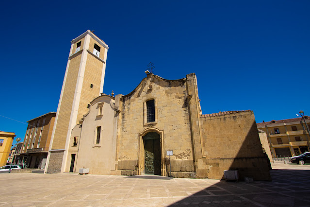 San Gavino Monreale-Chiesa di Santa Chiara