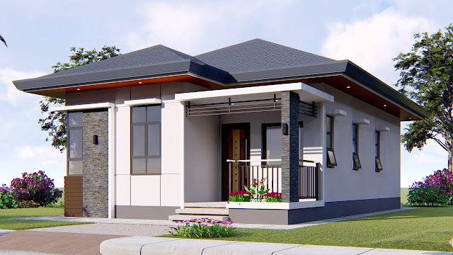 Small House Design 3 Bedroom Residence