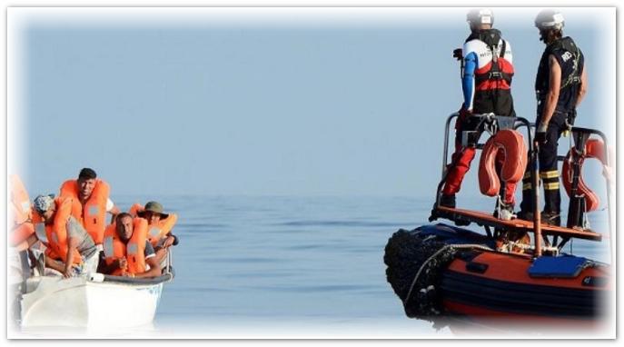 الحرس المدني الإسباني يَعترض 130 مهاجرا جزائريا غير شرعي في ظرف 24 ساعة