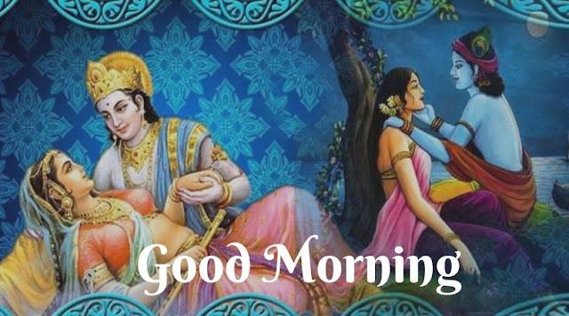 radhe krishna good morning images hd