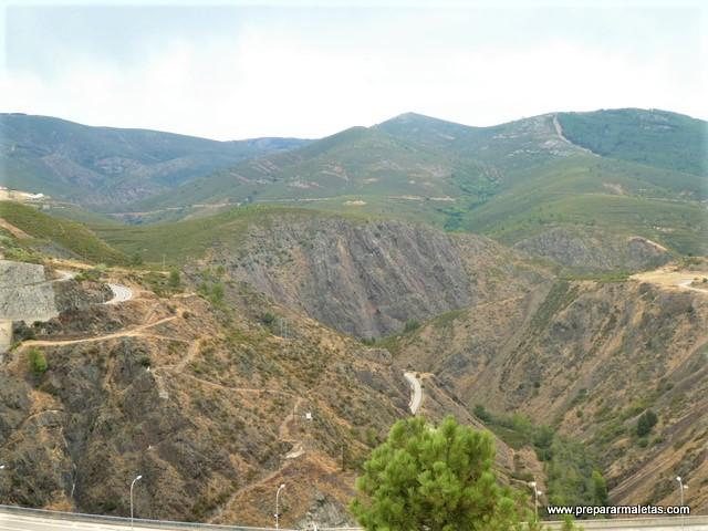 ruta por el embalse del Atazar en Madrid