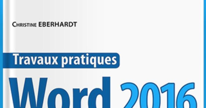 grande biblioth u00e8que   travaux pratiques avec word 2016