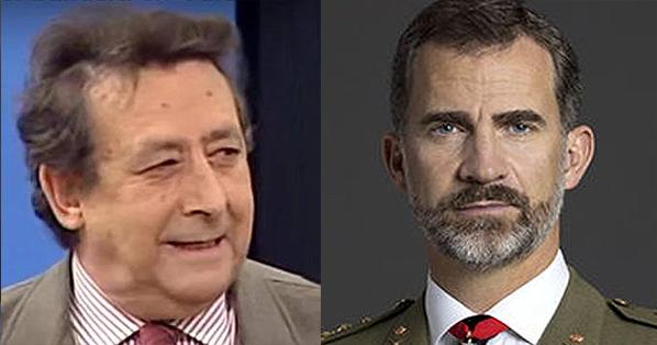 Alfonso Ussía incendia twitter tras proponer a Felipe VI como rey de Portugal