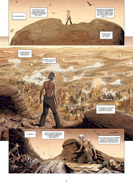 """page de """"Docteur Watson T2 le grand Hiatus Partie 2"""" de Stéphane Betbeder, Darko Perovic chez soleil"""