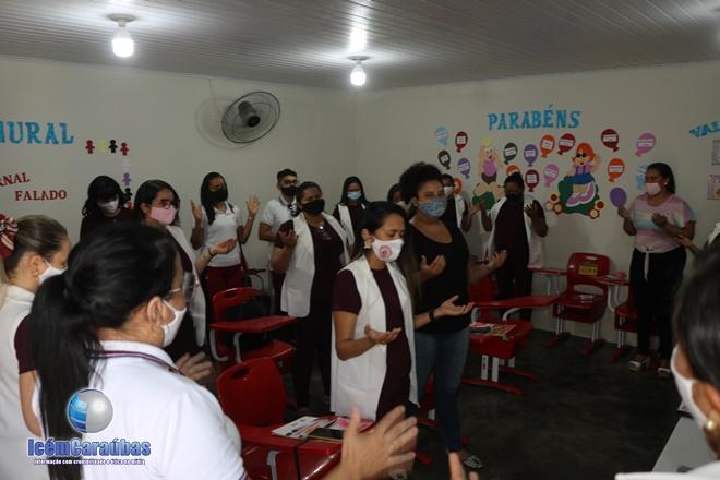Professores do Educandário Êxito participam de abertura da Semana Pedagógica presencial em Caraúbas