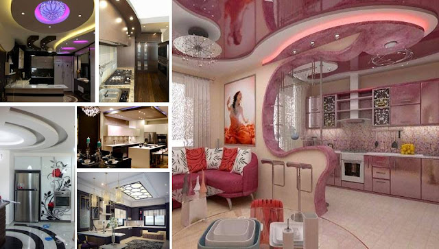 Gorgeous Kitchens Photos 25 gorgeous kitchens designs with gypsum false ceiling & lights