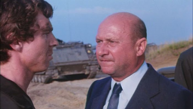 Donald Pleasence in Power Play