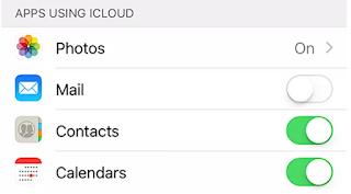 نسخة احتياطية من iPhone باستخدام iCloud