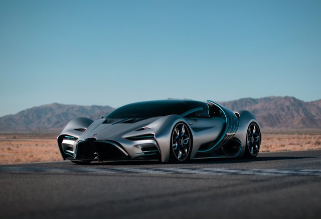 Southern California Technology Company Hyperion Debuts Ultimate Hydrogen-Electric Supercar