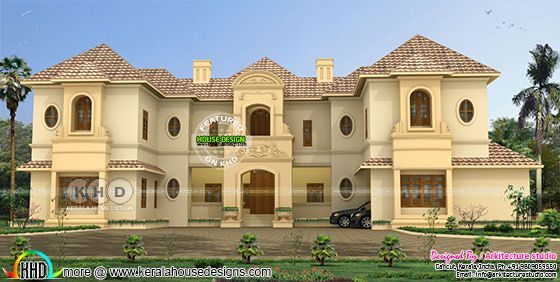 Super luxury Colonial home with 8 BHK