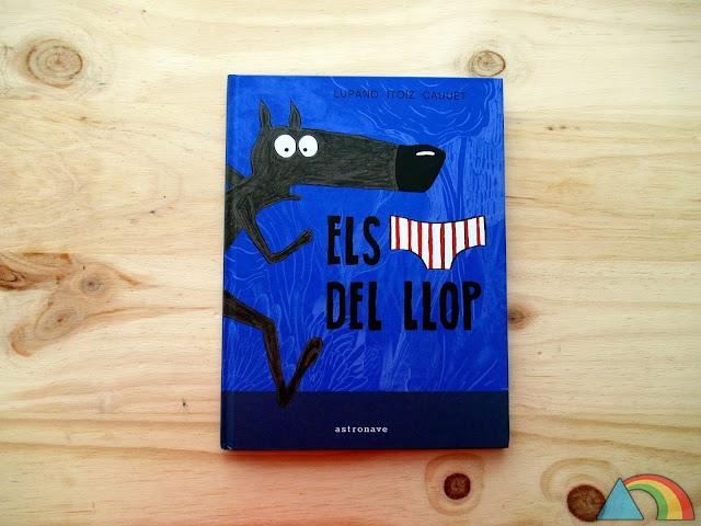 """Portada del libro """"El lobo en calzoncillos"""""""