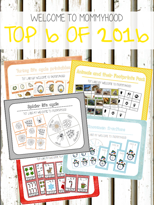 Top 6 products from Tot Labs by Welcome to Mommyhood