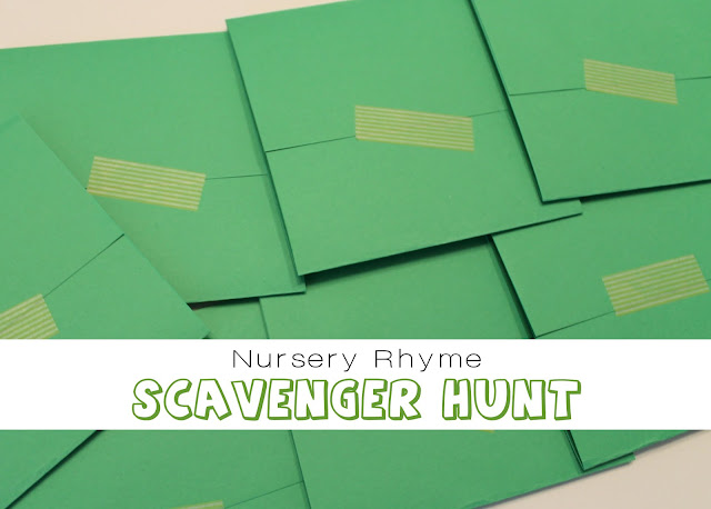 Nursery Rhyme Scavenger Hunt