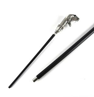 Lucius Malfoy's Walking Stick and Wand