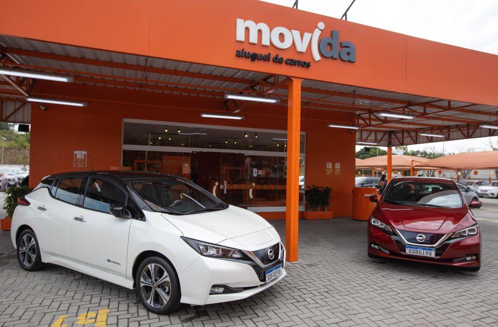 Movida facilita a entrada de carro elétrico no mercado de motorista de aplicativo