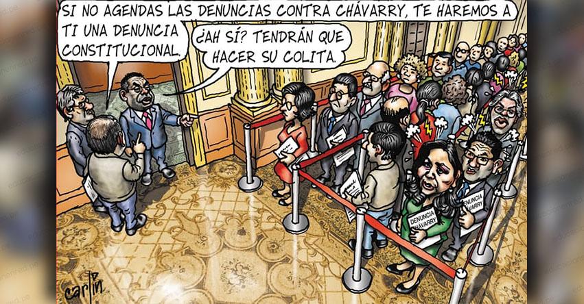 Carlincaturas Sábado 24 Noviembre 2018 - La República