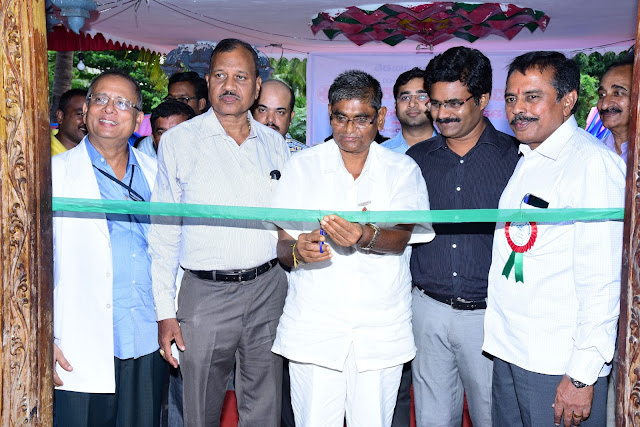 Gangavaram Port organised a Mega Medical Camp