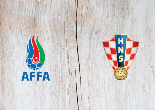 Azerbaijan vs Croatia - Highlights 9 September 2019