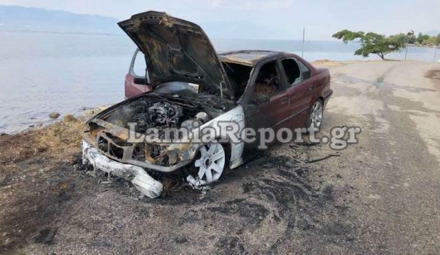 Στυλίδα: Πήρε φωτιά αυτοκίνητο στην Κουβέλα
