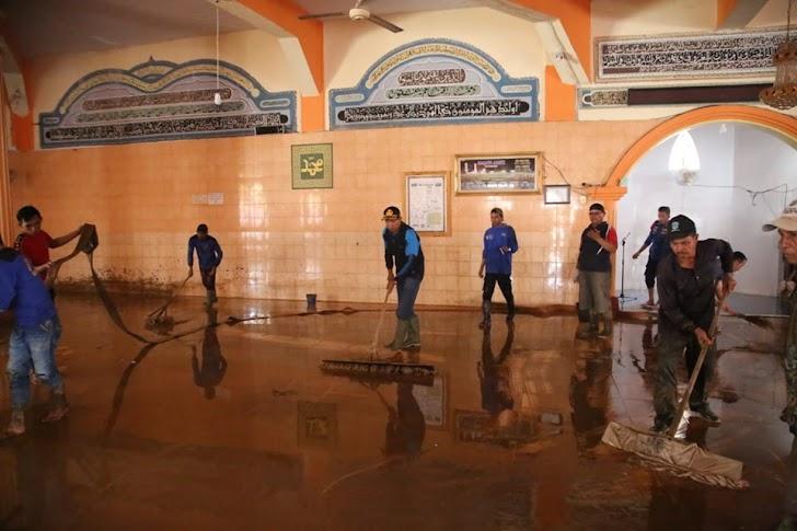 Tanggap Bencana, Pemkot Kerahkan Personil & Alat Berat
