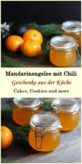 Rezept für Mandarinengelee mit Chili - Geschenke aus der Küche