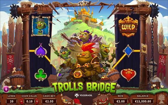 Goldenslot Trolls Bridge