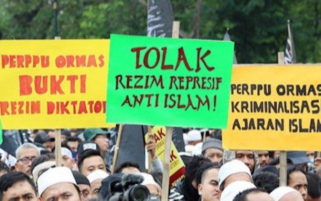 UU Ormas Disahkan, DSKS: Bakal Berangus Gerakan Islam