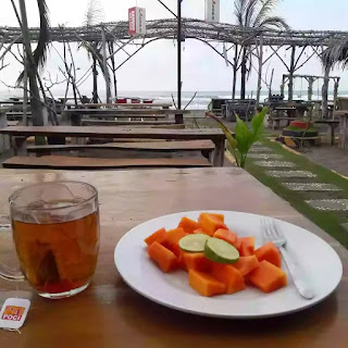 Place at bamboo cafe pangandaran