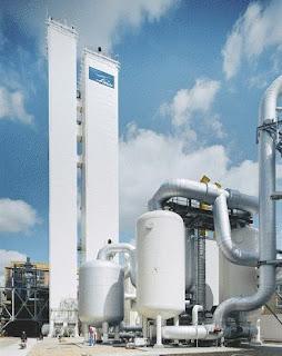 Aplikasi Kimia : Pembuatan Oksigen, Nitrogen dan Gas Mulia Skala Industri