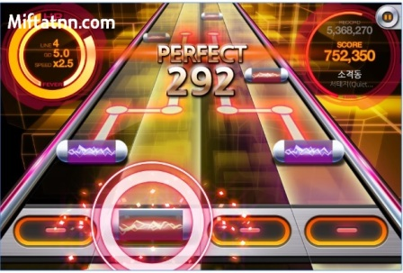 Game Mirip Guitar Hero Android Beat MP3 Rhythm Mod Apk