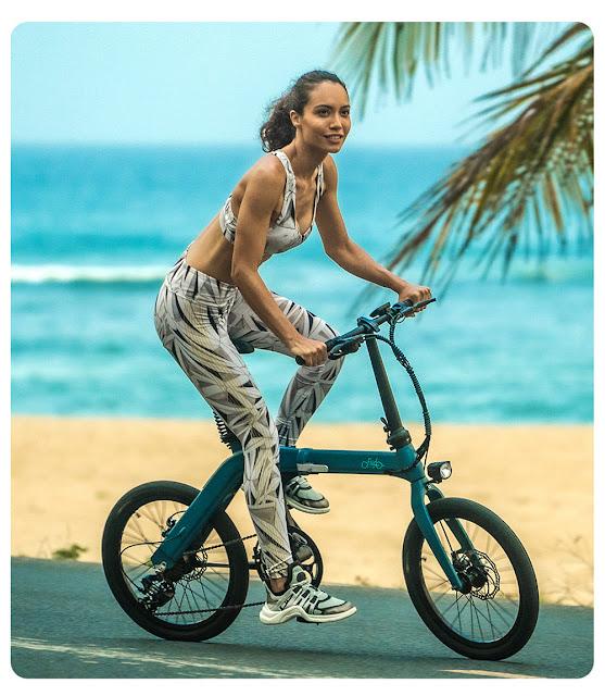 FIIDO D11 - Uma bicicleta eléctrica com 100km de autonomia!