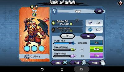 Mutants: Genetic Gladiators Breeding video N°209 (Tengu - Beast)