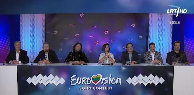 Eurovizijos finalo komisija, nacionalinė atranka