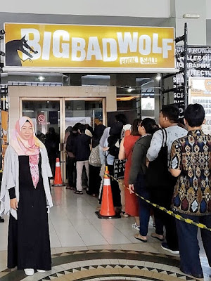 Big Bad Wolf BBW 2019 Jogja