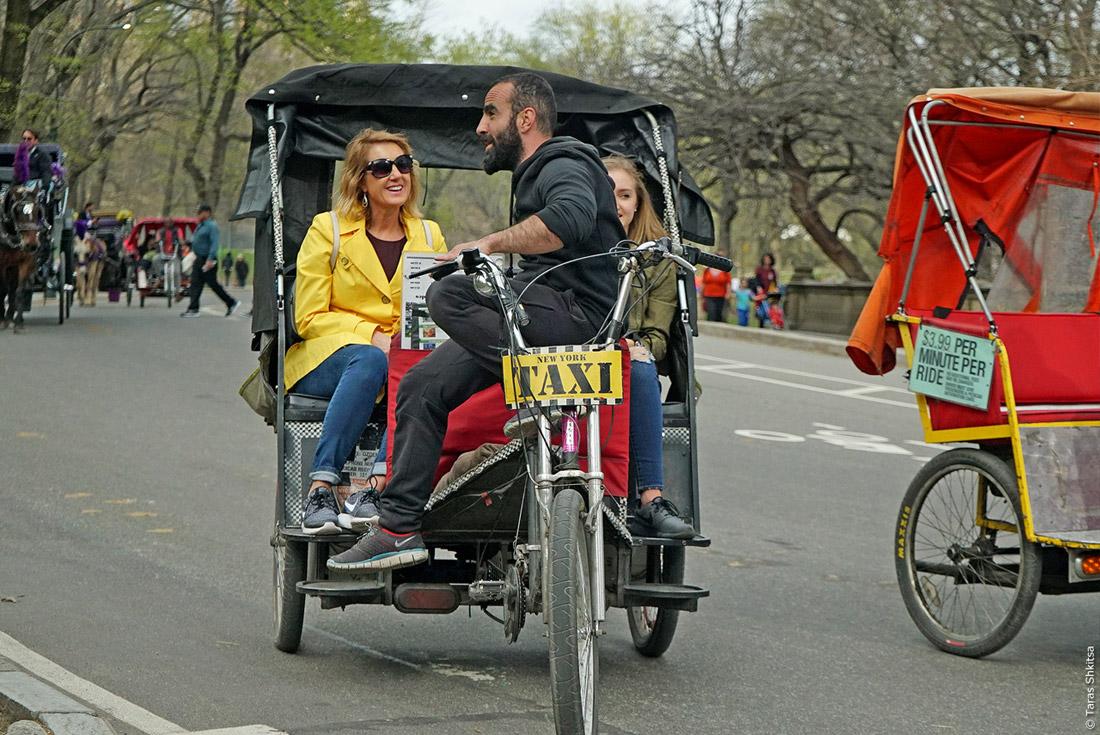 Central Park. 1. April 2016