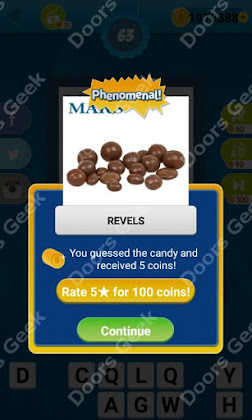 Answers, Cheats, Solutions for Guess the Candy Level 63 for android and iphone