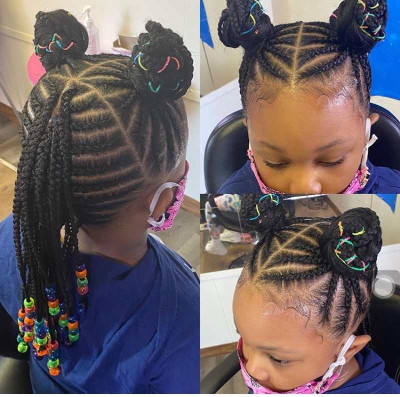 Braiding Styles for little girls