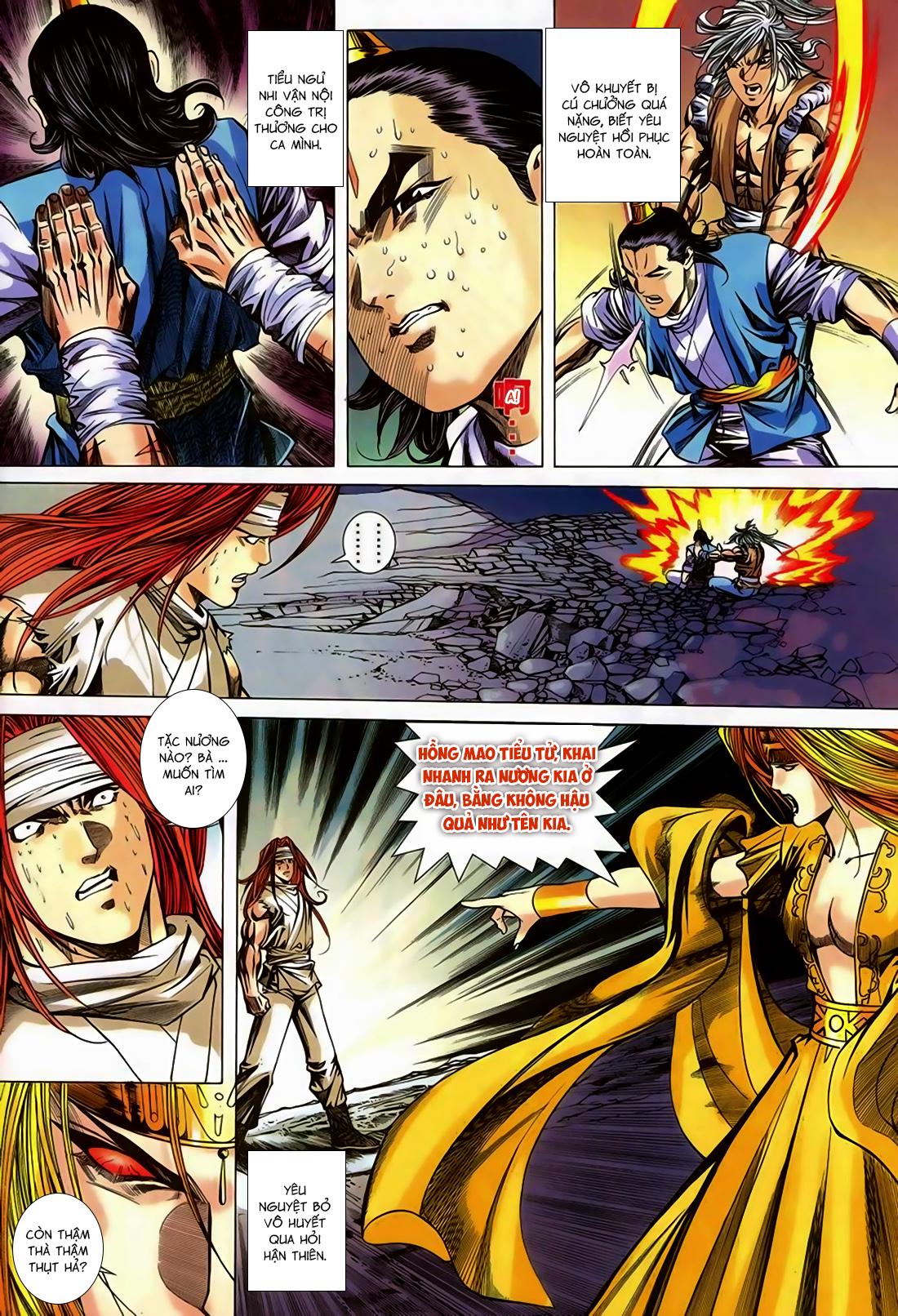Song Hùng Kỳ Hiệp Chap 251 - Trang 8
