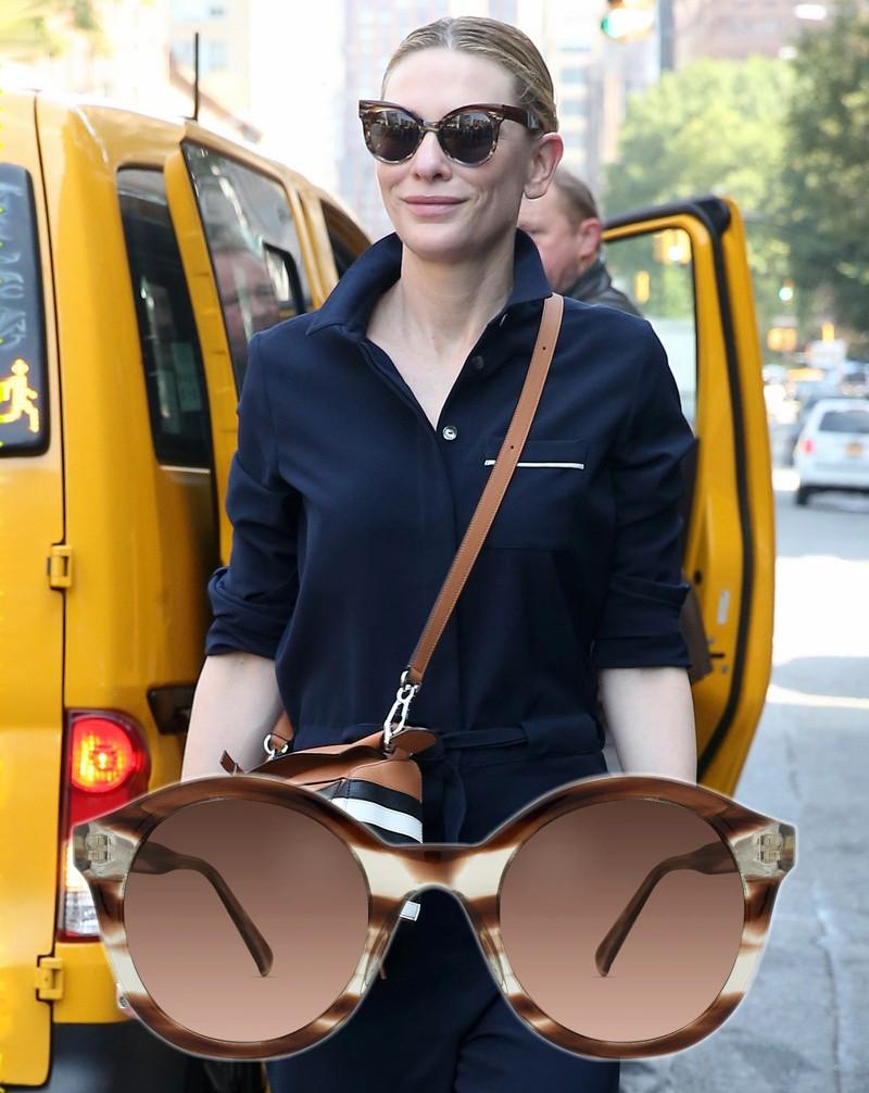 Óculos de sol das famosas para o verão 2020 - Cate Blanchett