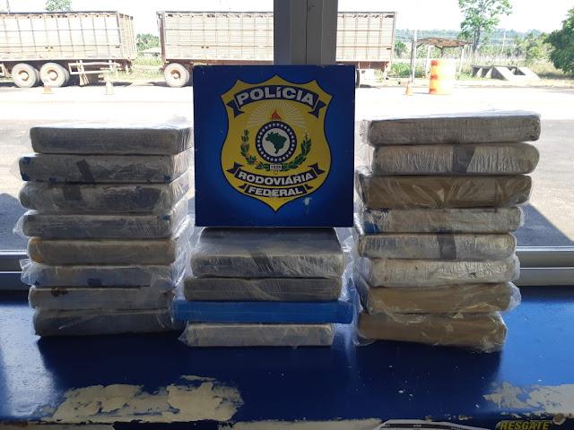 Cocaína pura: PRF apreende 20 quilos do entorpecente em Porto Velho/RO
