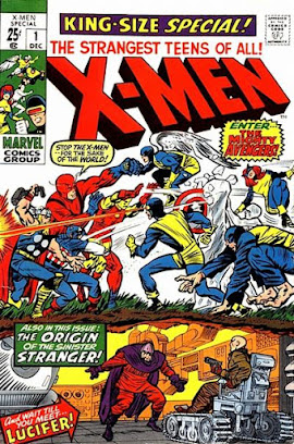 X-Men Annual #1, the Avengers